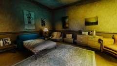 Nouvelles textures dans le premier appartement d