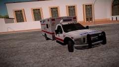 Ford F350 Super Duty San Andreas Emerency Medica für GTA San Andreas
