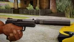 USP45 mit Schalldämpfer