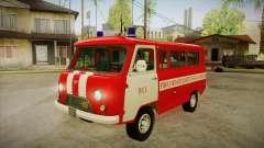 Siège UAZ 452 pompier SA