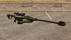 Le Barrett M82 sniper rifle v4
