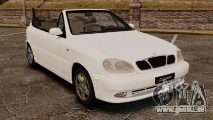 Daewoo Lanos 1997 Cabriolet Concept pour GTA 4