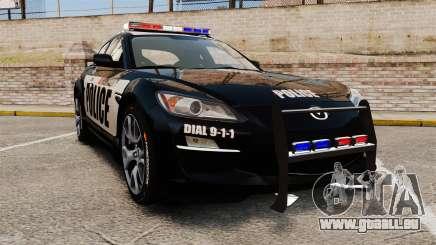 Mazda RX-8 R3 2011 Police pour GTA 4