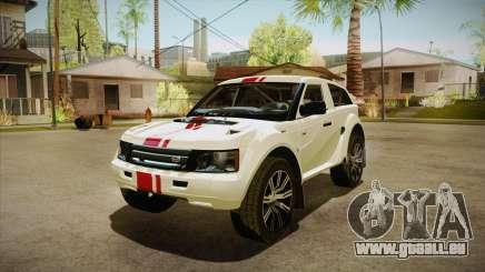 Bowler EXR S 2012 HQLM pour GTA San Andreas