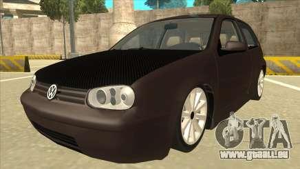 VW Golf 4 Tuned für GTA San Andreas