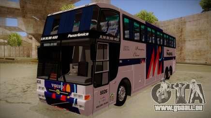 Busscar Jum Buss 400 P Volvo pour GTA San Andreas