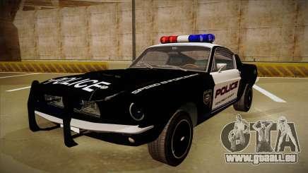 Shelby Mustang GT500 Eleanor Police für GTA San Andreas