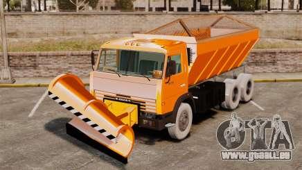KAMAZ 53215 Schneefräse für GTA 4