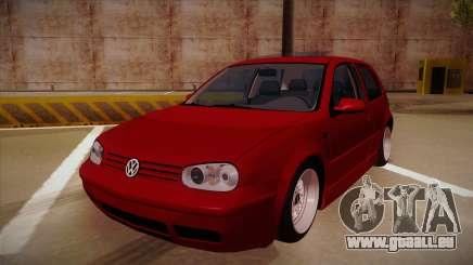 Volkswagen Golf Mk4 Euro pour GTA San Andreas