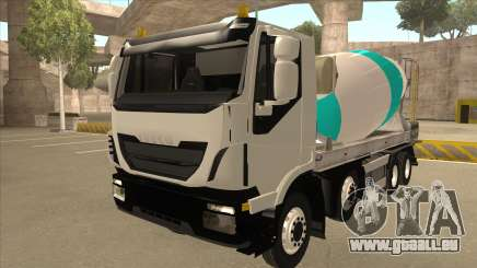 Salut-Land bétonnière camion Iveco pour GTA San Andreas