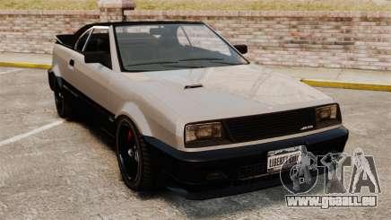 Die Cabrio-Version des der Blista für GTA 4