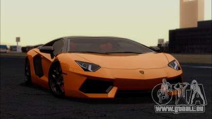 Lamborghini Aventador LP760-2 EU Plate pour GTA San Andreas