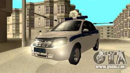 Lada Granta 2190 Police v 2.0 pour GTA San Andreas
