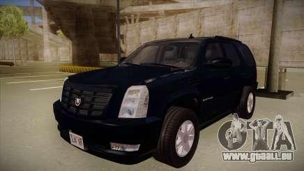 Cadillac Escalade 2011 Unmarked FBI pour GTA San Andreas