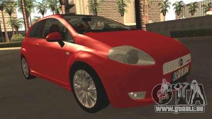 Fiat Grande Punto für GTA San Andreas
