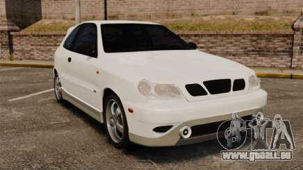 Daewoo Lanos GTI 1999 Concept pour GTA 4