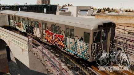 Nouveau graffiti sur la v1 de métro pour GTA 4