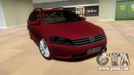 Volkswagen Passat B7 2012 pour GTA Vice City