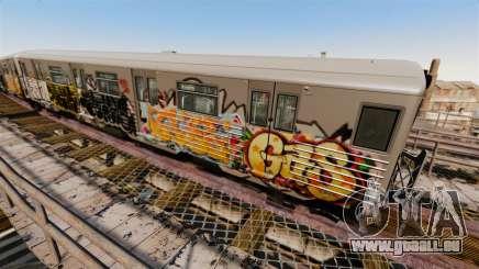Nouveau graffiti de métro pour v4 pour GTA 4