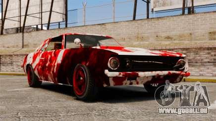 Neue Farbgebung für rostige Vigero für GTA 4