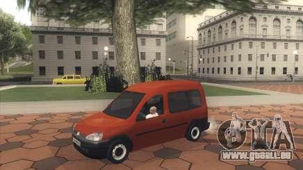Opel Combo pour GTA San Andreas