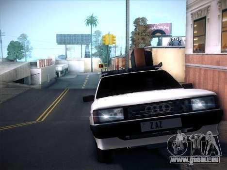 Audi 80 B2 v2.0 pour GTA San Andreas vue arrière