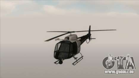 Police Maverick from GTA V pour GTA San Andreas