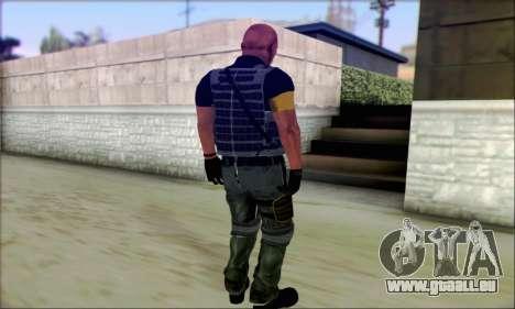 Sam de Far Cry 3 pour GTA San Andreas deuxième écran