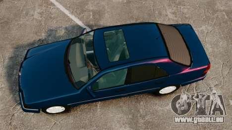 Mercedes-Benz C220 W202 v2.0 pour GTA 4 est un droit