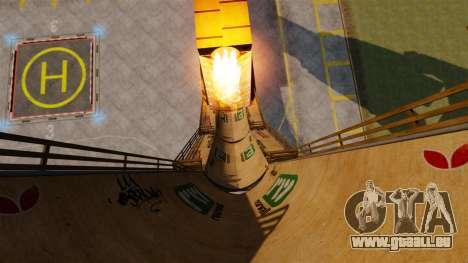 Pistolet d'hélicoptère pour GTA 4 quatrième écran