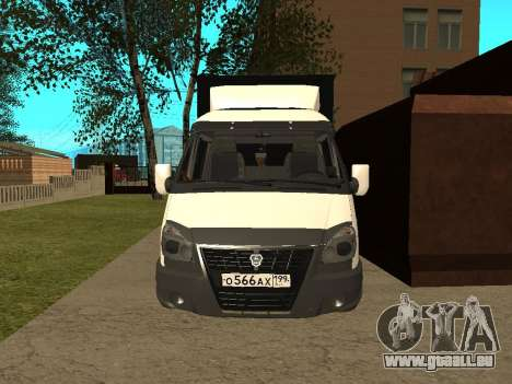 33023 Gazelle Business für GTA San Andreas linke Ansicht