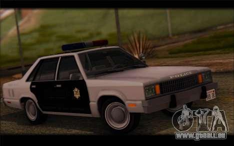 Ford Fairmont 1978 4dr Police für GTA San Andreas