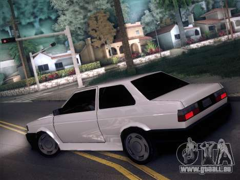 Volkswagen Voyage GL 94 2.0 pour GTA San Andreas laissé vue