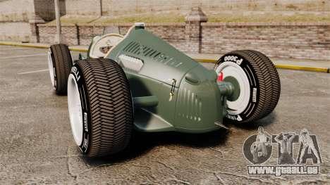 Auto Union Type C 1936 für GTA 4 hinten links Ansicht