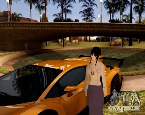 Indo-Japan High School Girl Uniform pour GTA San Andreas