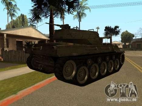 M18-Hellcat für GTA San Andreas rechten Ansicht