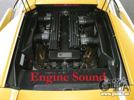 Motor sound Lamborghini Murcielago für GTA 4
