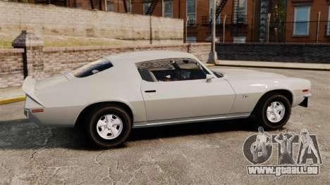 Chevrolet Camaro Z28 1970 v1.1 pour GTA 4 est une gauche