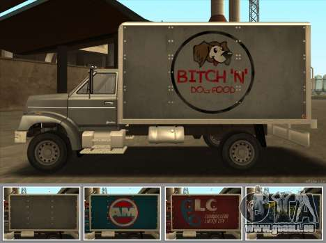 Yankee HD from GTA 3 für GTA San Andreas zurück linke Ansicht