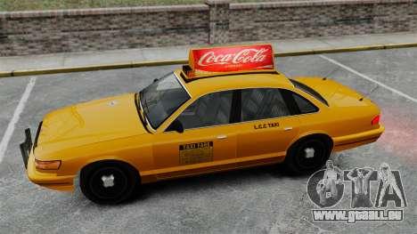 Véritable publicité sur les taxis et les bus pour GTA 4 neuvième écran