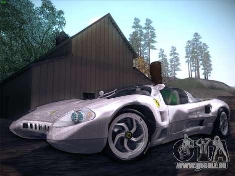 Ferrari P7 Chromo für GTA San Andreas Motor