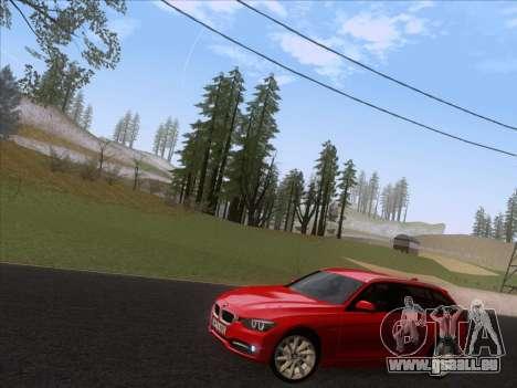 BMW 3 Touring F31 2013 pour GTA San Andreas laissé vue