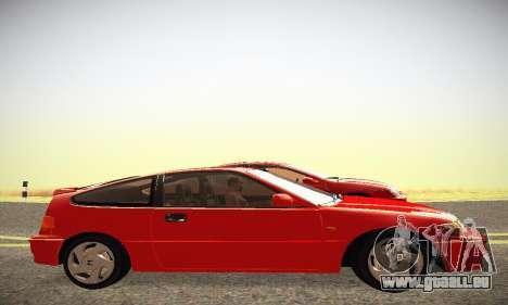 Honda CRX - Stock für GTA San Andreas linke Ansicht