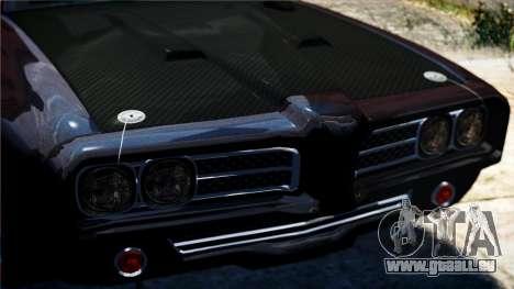 Hunter Kavallerie von Burnout Paradise für GTA 4 Rückansicht