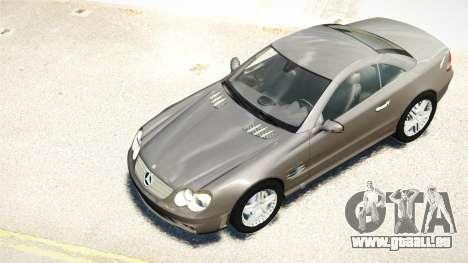 Mercedes-Benz SL65 2007 pour GTA 4 est une vue de l'intérieur