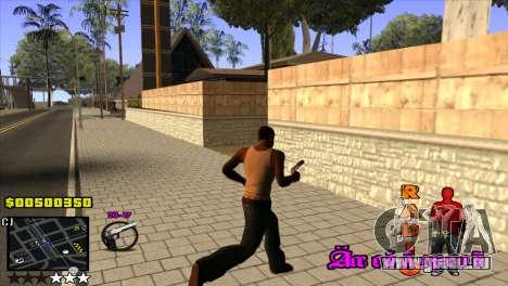 C-HUD Radio pour GTA San Andreas troisième écran