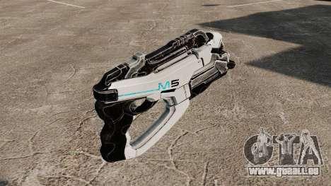 Pistolet Mass Effect v1 pour GTA 4 secondes d'écran
