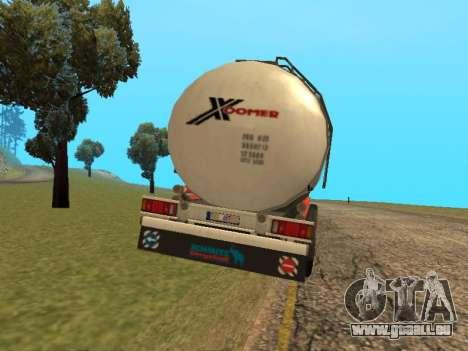 Tank Xoomer für GTA San Andreas zurück linke Ansicht