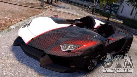 Lamborghini Aventador J 2012 Carbon für GTA 4
