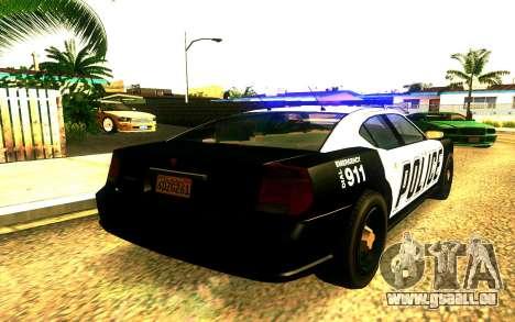 Police Buffalo GTA V für GTA San Andreas linke Ansicht